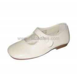 Zapatos beiges de piel de vestir, de Gux's Baby