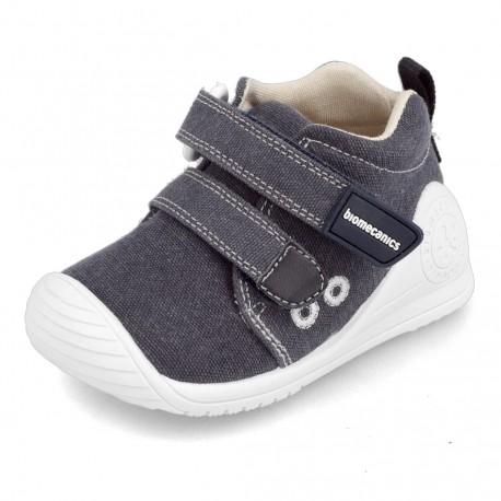 Zapatillas de lona vaquera para niño o niña, de Biomecanics de Garvalín