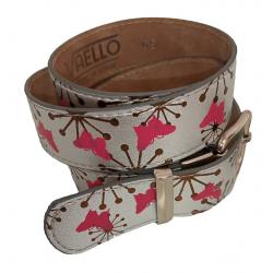 Cinturón plateado para niña de Vaello