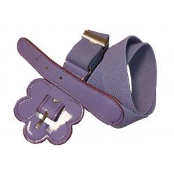 Cinturón elástico con flor para niña de Vaello