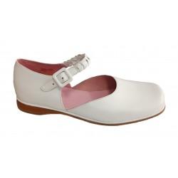 Zapatos de Comunión para niña con hebillas de Sanmi
