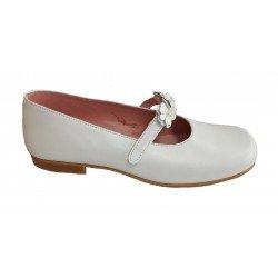 Zapatos de Comunión para niña con velcro de Piulín