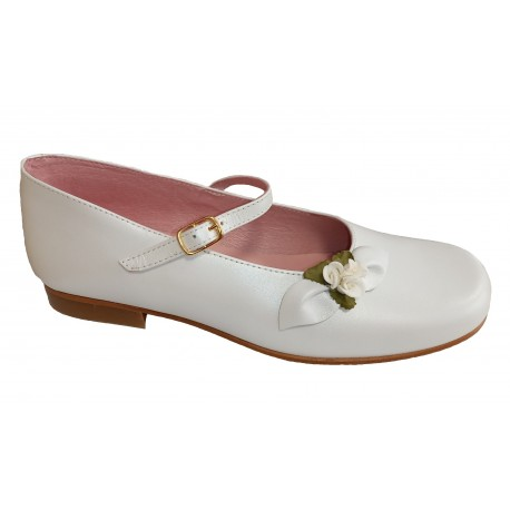Zapatos de Comunión para niña con hebilla de Piulín