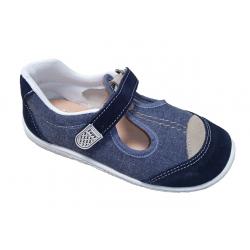 Zapatillas de lona para niño en jeans de Zapy