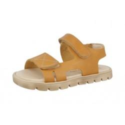 Sandalias para niño en piel vaquetilla de Andanines
