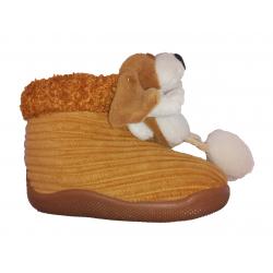 Zapatillas de estar en casa tipo bota con perro de Chi@boy