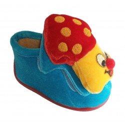 Zapatillas de estar en casa tipo bota con seta de Chi@boy