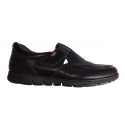 Sandalias negras para caballero On Foot