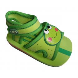 Sandalias de textil con un velcro para bebé de Gioseppo