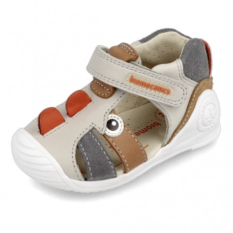 Sandalias para niño con dinosaurio de Biomecanics