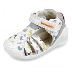 Sandalias para bebés con dinosaurios de Biomecanics