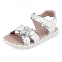 Sandalias para niña con mariposa, de Garvalín