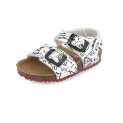 Sandalias para niño con piso bio de Garvalín