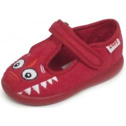 Zapatillas de estar en casa para niño de monstruo simpático de Zapy