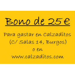 Bono de 50 € en Zapatería Calzaditos