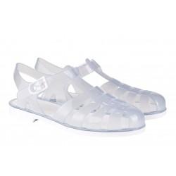 Sandalias de agua estilo cangrejera modelo Biarritz Cristal Transparente de Igor
