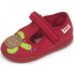 Zapatillas de estar en casa para niño con tortugas de Zapy
