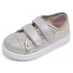 Zapatillas para niña tipo basket con dos velcros de Zapy