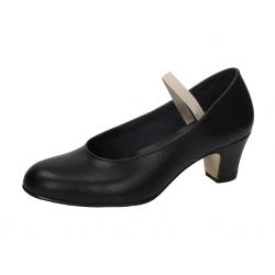 Zapatos semiprofesionales de piel negra para flamenco, de Pasos de Baile de Carleti Sansano