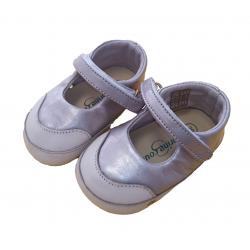 Zapatillas doradas de piel de Springcourt Baby
