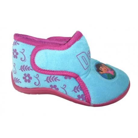 Zapatillas abotinadas de estar en casa de Dora la Exploradora