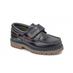 Zapatos naúticos para niños con velcro de la marca Gorila