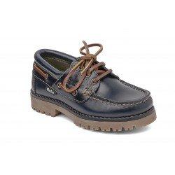 Zapatos naúticos para niños con cordones de la marca Gorila