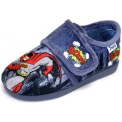 Zapatillas de estar en casa para niño Batman de Zapy