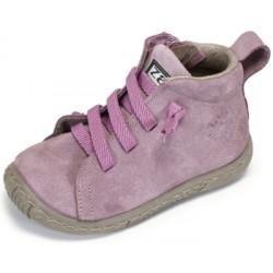 Botas para niña en piel serraje de Zapy