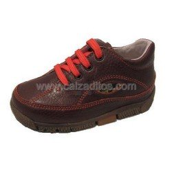 Zapatos Sport de piel marrón de Naturino