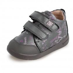Botas para niña en piel estampada de Garvalín