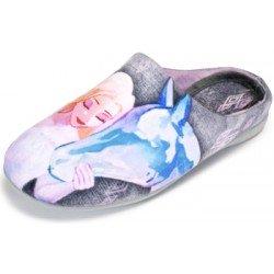 Zapatillas Zapy de estar en casa de Elsa y caballo de Frozen II