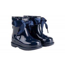 Botas de agua para niña modelo Bimbi con lazos de Igor