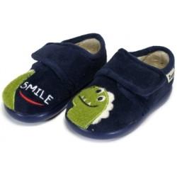 Zapatillas de estar en casa para niño Dino de Zapy