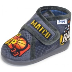 Zapatillas de estar en casa para niño de baloncesto de Zapy