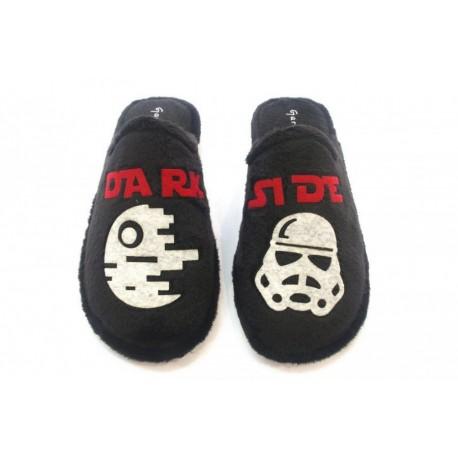 Zapatillas de estar en casa para chico de Dark Side de Garzón