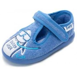 Zapatillas de estar en casa para niño de tiburones de Zapy