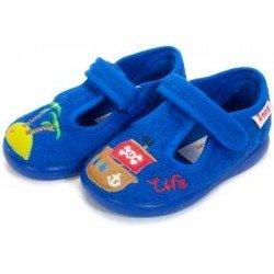 Zapatillas de estar en casa para niño de piratas de Zapy
