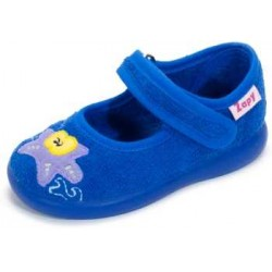 Zapatillas de estar en casa para niña con estrellas de Zapy
