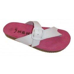 Sandalias bio de dedo para niña de la marca Nens