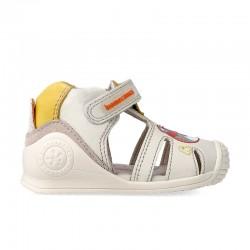 Sandalias de piel Biomecanics para niños