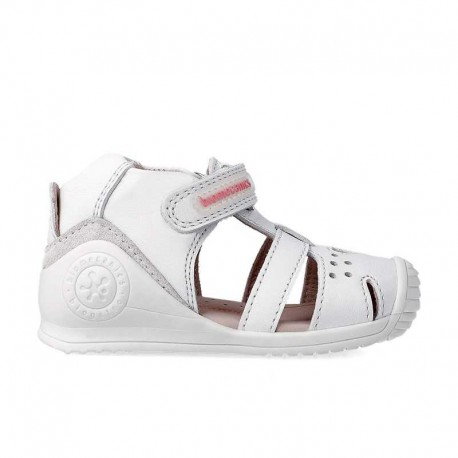 Sandalias de piel Biomecanics para niña