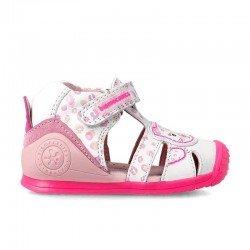 Sandalias para niña de Biomecanics