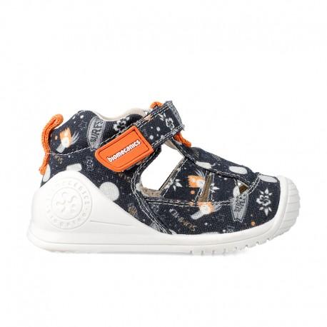 Sandalias de loneta Biomecanics para niños