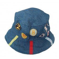 Sombrero de tela vaquera para niño de Paula Nus