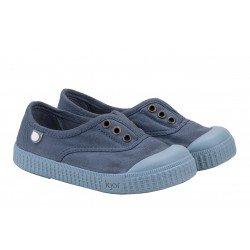 Zapatillas de lona con elástico de Igor modelo Berri monocolor