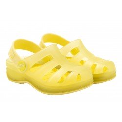 Zuecos de goma para niño o niña modelo Surfi Transparente de Igor