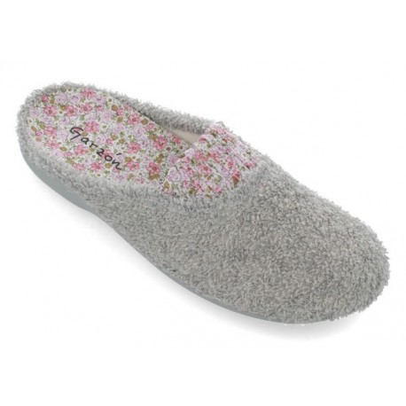 Zapatillas de estar en casa de rizo para mujer de Garzón