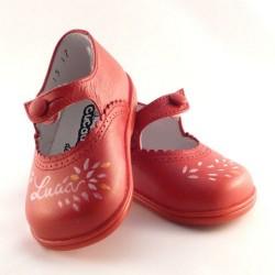 Zapatos de Cucada de Eli pintado a mano Lucía nº 17