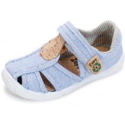 Sandalias de lona denim recytex para niño de Zapy